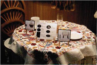 ノクシカタのテーブルクロス