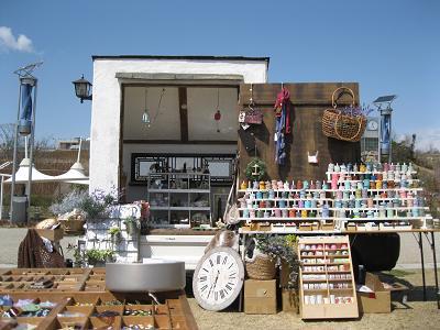 このお店、軽トラックなんです!