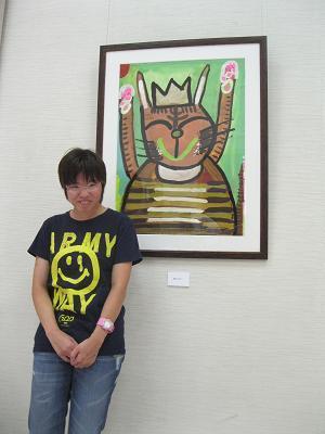 丹羽麻子さん 「猫ばんざい」