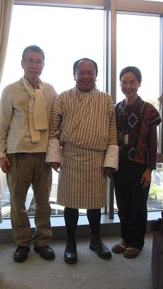 2014年3月28日辻さん&ペマさん&土井、熊本にて