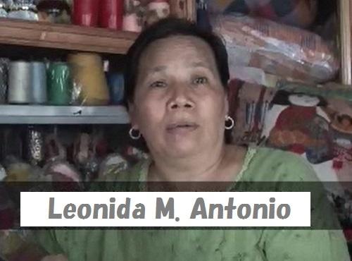 Leonida M Antonio (1)