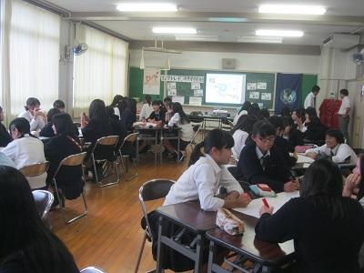 名古屋市立西陵高等学校2年生