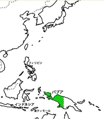 パプア地図